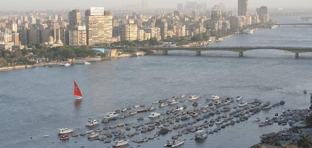 أسباب تلوث نهر النيل