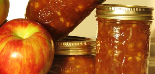 طريقة تحضير مربى التفاح