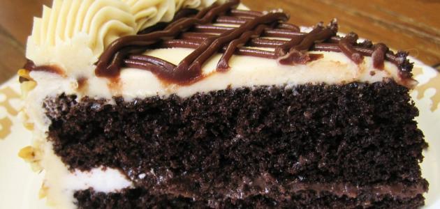 طريقة عمل كيك محشو بالشوكولاتة