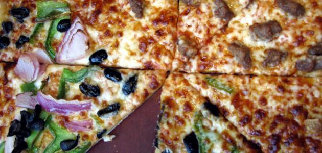 طريقة بيتزا لذيذة