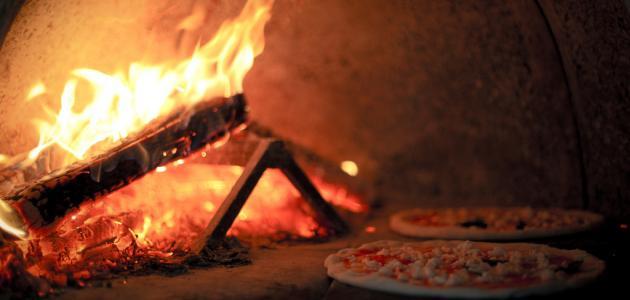 طريقة خبز البيتزا