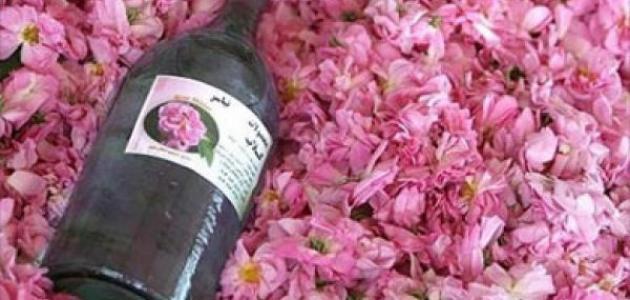 طريقة صنع ماء الورد