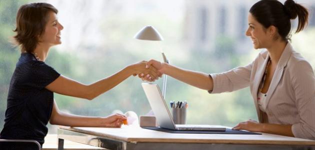 تقنيات المقابلة والتفاوض