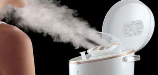 فوائد البخار للبشرة