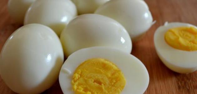 فوائد البيض المسلوق لكمال الأجسام