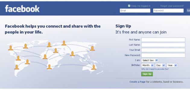 طريقة عمل حساب على الفيس بوك