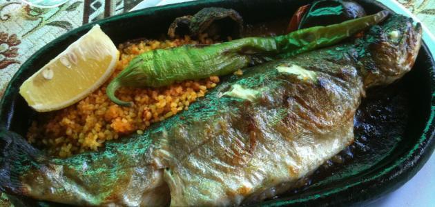 طريقة طبخ السمك في الفرن