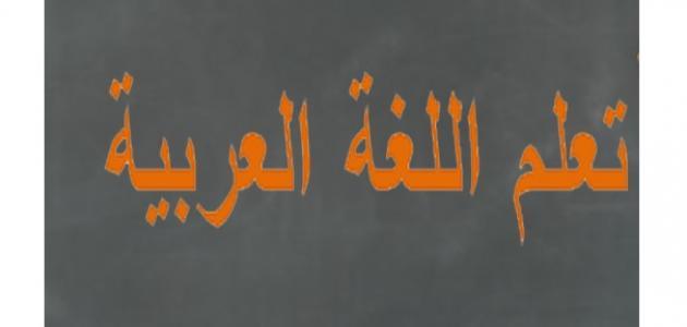 أهمية تعلم اللغة العربية