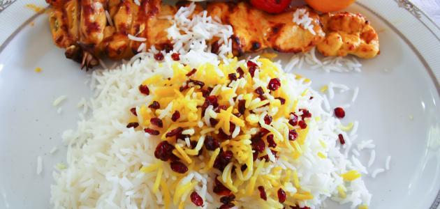 طريقة الرز الإيراني