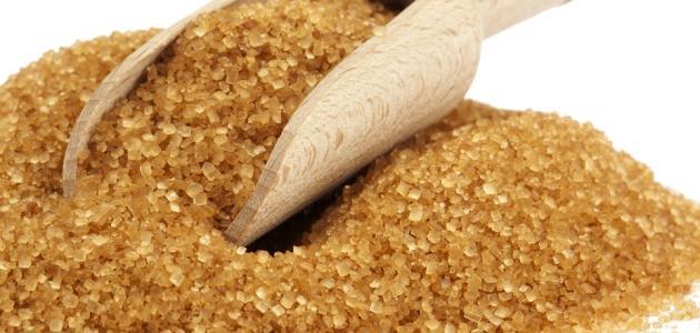 طريقة عمل سكر بني