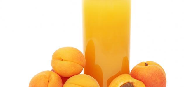 فوائد عصير المشمش