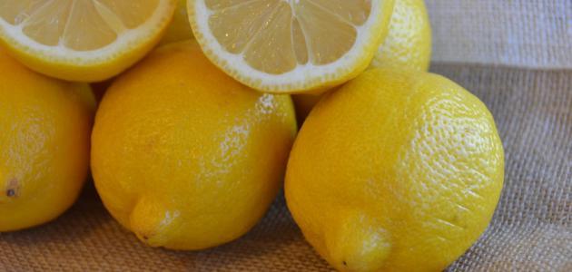 طريقة الليمون للتنحيف