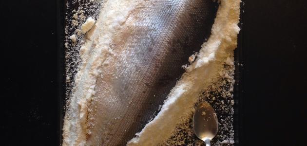 طريقة طبخ السلمون في الفرن