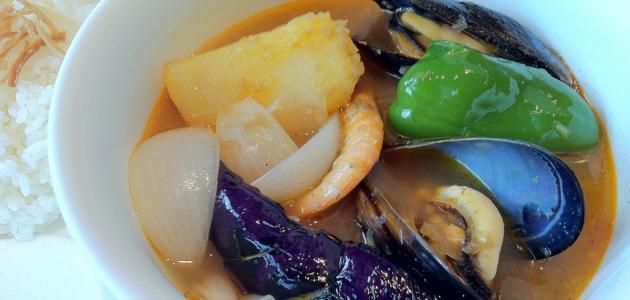 طريقة عمل شوربة ثمار البحر