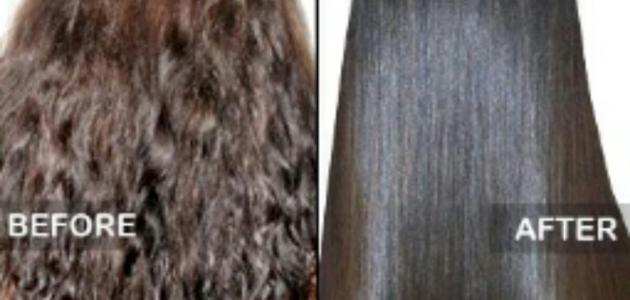 طرق تنعيم الشعر المجعد