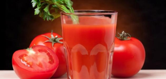 فوائد عصير الطماطم للحامل