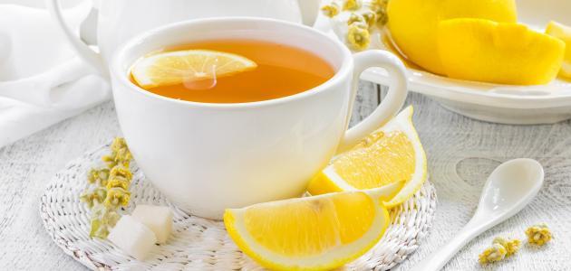 فوائد الشاي مع الليمون