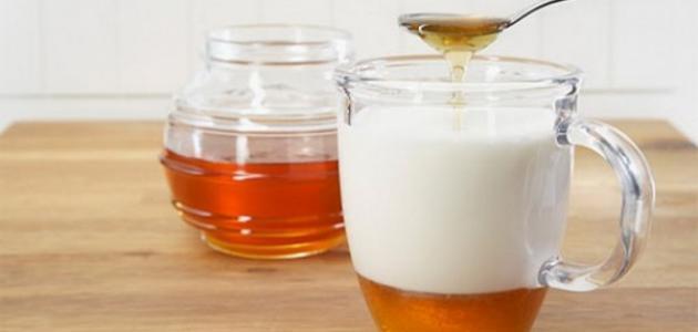فوائد العسل والحليب
