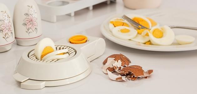 فوائد البيض المسلوق للرجيم