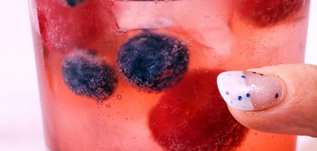فوائد عصير التوت الطبيعي