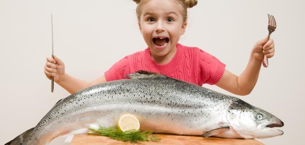 فوائد السمك للأطفال