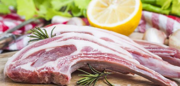 فوائد لحم الغنم