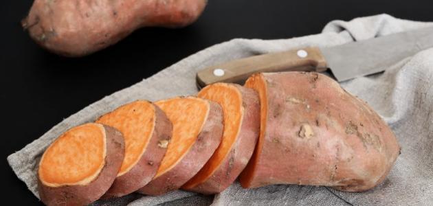 طريقة سلق البطاطا الحلوة
