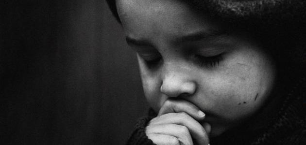 كلمات عن الدموع والحزن