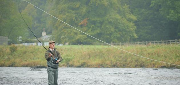 كيفية صيد الأسماك