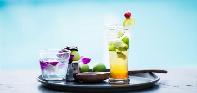 فوائد الماء مع الليمون على الريق