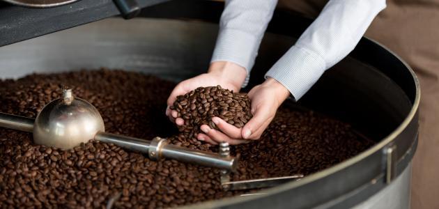 طريقة تحميص القهوة