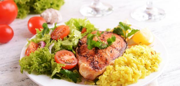طريقة طبخ السمك مع الرز