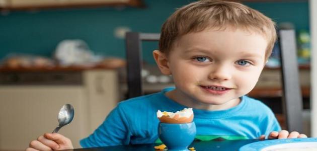 فوائد صفار البيض للأطفال