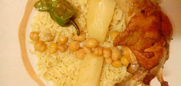طريقة تحضير أكلات شعبية فلسطينية قديمة