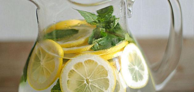 طريقة تحضير عصير ليمون بالنعناع
