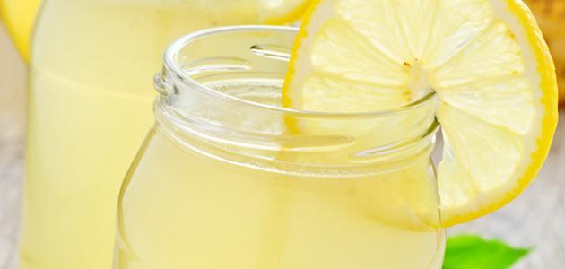 طريقة عمل عصير ليمون