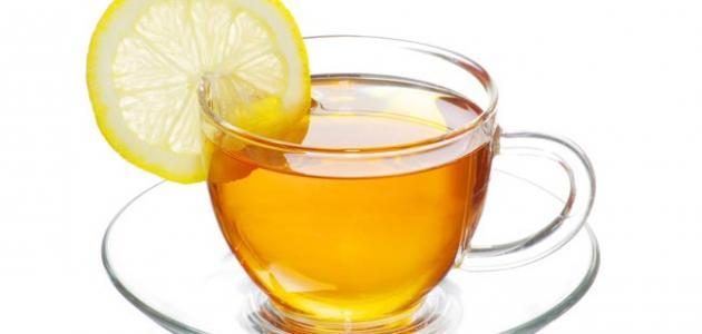 فوائد شاي الليمون