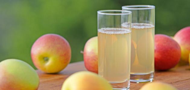 طريقة تحضير عصير التفاح