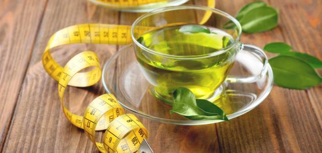 فوائد الشاي الأخضر لحرق الدهون