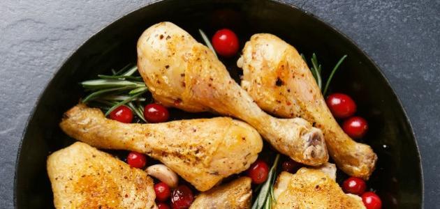 طرق طبخ فخذ الدجاج