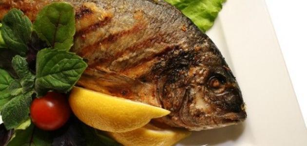 طريقة عمل سمك مشوي بالفرن