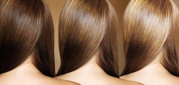 طريقة تفتيح الشعر الغامق