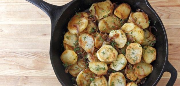 طريقة عمل صينية البطاطا
