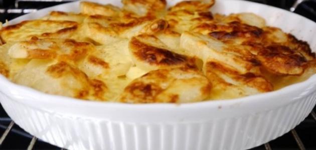 طريقة عمل صينية بطاطس بالجبن