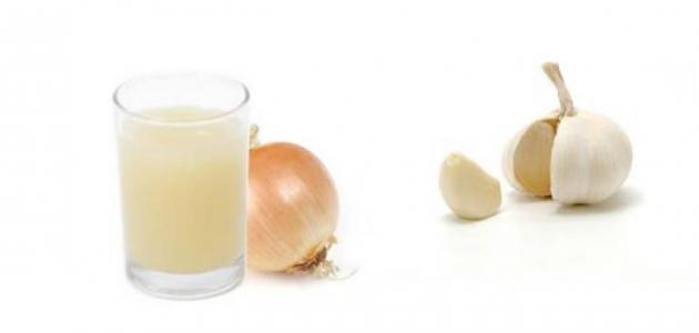 طريقة عمل عصير البصل