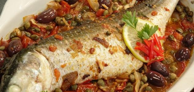 طريقة عمل صينية السمك