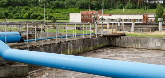 مراحل معالجة المياه