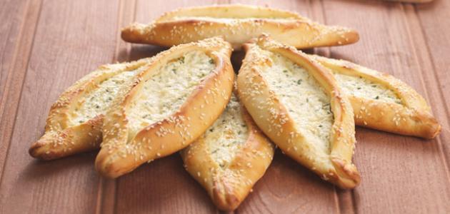 فطيرة قوارب الجبن
