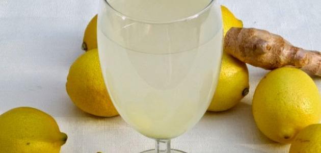 طريقة عمل عصير الزنجبيل
