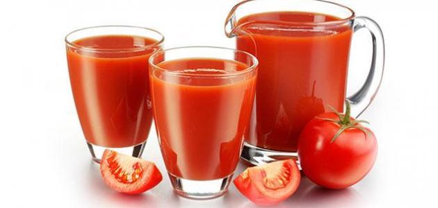 فائدة عصير الطماطم